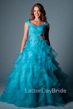 Modest Prom Dresses : Jacqueline -Mormon LDS Prom Dress | Modest ...