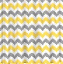 Grey And White Chevron Shower Curtain. Custom IKAT Chevron Shower Curtain 3 color combo by redbeauty  grey chevron for Grey and yellow bathroom HOUSE