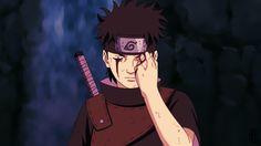 Shisui Uchiha gives his eye to Itachi (Naruto)