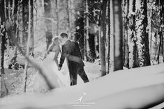 """Stunning winter wedding photo session in Clarkston. """"Rock the Dress"""" with my new favorite wedding photographer.... :)"""