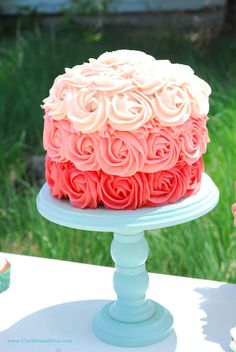 The Cake Stand... A Birthday Party Recap!
