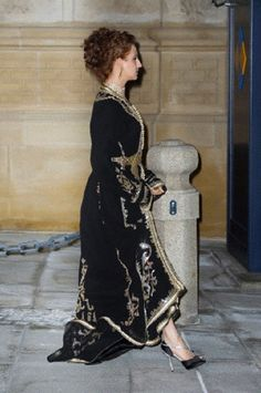 Princess Lalla Salma of Morocco attends the Gala dinner in Luxembourg on 19 Oct 2012
