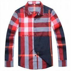 Burberry Men Shirt 2014-2015 BTS195