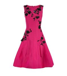 Oscar de la Renta Embellished Silk Dress available to buy at Harrods. Shop women's designer clothing online and earn Rewards points.