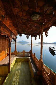 India - we stayed on a house boat in Kashmir, Dal Lake, and had our own cook. Kashmir is the northwestern region of India.. It is also known as the Heaven on Earth because of its natural widespread beauty. We picnicked at the base of the Indian Himalayas.