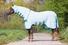 Rambo Sweetitch Hoody, vliegendeken van sterk en ademend zonreflectered 1000D polyester met leg Arches, V-Front Closure System, 3-singelsysteem en geschikt voor het Horseware Liner System. Deze deken is geschikt voor paarden met zomereczeem, ook te gebruiken om je paard te beschermen tegen vliegen, dazen, zon ed. Wordt geleverd inclusief masker. Maat 125/175 tm 160/213 nu €119,95 INCL. GRATIS VERZENDING! www.limburgsruiterhuis.nl Horses, Blankets, Animals, Happy, Animales, Animaux, Horse, Blanket, Ser Feliz
