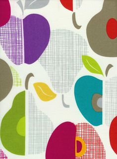 Organic Apples #pattern