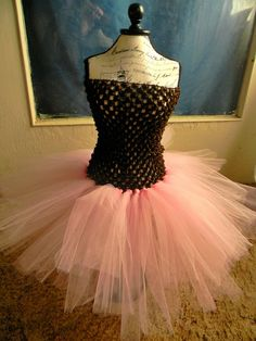 COWGIRL UP - Boutique Pink, and Brown Tulle Tutu Dress Fits 3m, 2T, 3T , Baby, Toddler