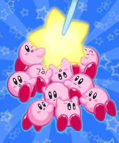 Kirby Mass Attack by Sirometa on deviantART