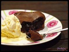 Moelleux chocolat coeur coulant café