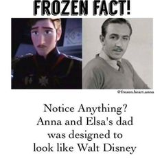 Well, Walt couldn't figure out how to adapt the Snow Queen story, and the King couldn't figure out how to handle Elsa's powers