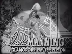 First of two credits for Irene Manning |  | Yankee Doodle Dandy (1942) | Trailer for the Warner Bros./First National picture directed by Michael Curtiz