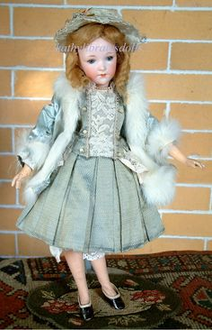 "14"" RARE & BEAUTIFUL ARMAND MARSEILLE 401 LADY DOLL"
