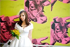 omg. wedding at the andy warhol museum. coolest ever.