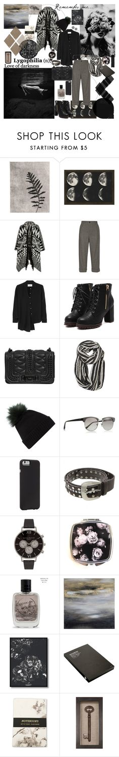 """Lygophilia"" by mariettamyan ❤ liked on Polyvore featuring PTM Images, Accessorize, Gucci, Maison Margiela, Rebecca Minkoff, Avenue, Helen Moore, Linda Farrow, Case-Mate and Olivia Burton"