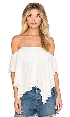 Free People Merpati Top in Ivory | REVOLVE
