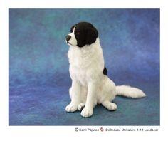 Kerri Pajutee Miniature Animals (beautiful 1/12 Landseer!)