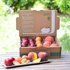 Beautiful organic fruit gift baskets at peak-of-season freshness, many shipped directly from small organic farms across the U. Mixed Fruit, Fresh Fruit, Fruit Water, Peach Pizza, Non Perishable, Employee Appreciation Gifts, Fruit Gifts, Fruit Box, Peach Trees