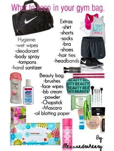 7 Must Have Items for Your Gym Bag - Women Fitness Magazine