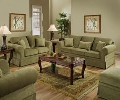 Best Living Room Paint Ideas With Olive Green Couches Audrey Olive Green Upholstered Sofa Set By 400 x 300