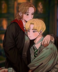 Harry Potter Mems, Harry Potter Ships, Harry Potter Actors, Harry Potter Anime, Harry Potter Love, Draco And Hermione Fanfiction, Draco Malfoy, Dramione Fan Art, Fantastic Beasts