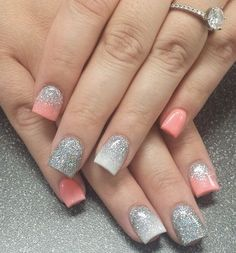 Instagram photo of acrylic nails by nailsbykaleigh