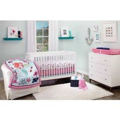 Disney Princess Little Mermaid Ariel Crib Bedding Collection