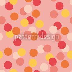Hochqualitative Vektor-Muster auf patterndesigns.com - Konfetti-I, designed by Christina Wasenegger