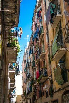 Espagne - Street of Barcelone, Spain