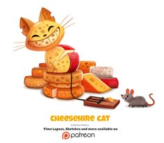 Cheesehire cat - Piper Thibodeau