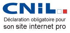 Déclaration obligatoire pour son site internet professionnel à la Commission nationale de l'informatique et des libertés (#CNIL) dans le cas des fichiers et des traitements informatiques contenant des données personnelles : http://www.evolutiveweb.com/actualites/articles/declaration-obligatoire-a-la-cnil-pour-son-site-internet-74.html