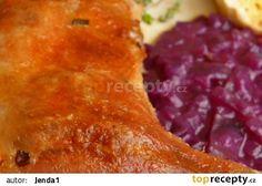 Babiččina pečená husa recept - TopRecepty.cz Lasagna, Chicken, Ethnic Recipes, Food, Meals, Yemek, Buffalo Chicken, Lasagne, Eten