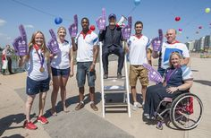 A big thank you to Susie Rodgers, Rebecca Adlington, Peter Bakare, Eddie Izzard, Nathan French, Kenny Allen and Sara Head for their enthusiasm at Go Local. For more info visit www.joininuk.org