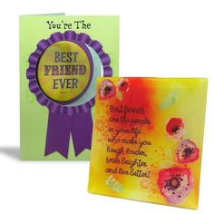 Best Friend Ever Hamper ( Card & Quote ) You're The..Wear it with pride Best friend ever and this badge makes it official..Love You Lots… #friendshipdaygifts #giftsforfriends | Rs. 434 | Shop Now | https://hallmarkcards.co.in/collections/friendship-day/products/best-wishes-on-friendshipday