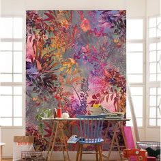 Wall mural photo wallpapers for home interior walls. Wall decoration in giant size. Express dispatch worldwide shipping and 60 days returns policy. Jugendstil Design, Mural Wall Art, Painted Wall Murals, Wall Murials, Wall Decor, Room Decor, Home Wallpaper, Interior Wallpaper, Interior Walls
