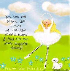 """The sun never stopped shining!"" quote via www.Facebook.com/PrincessSassyPantsCo"