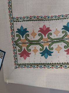 Cross Stitch Art, Cross Stitch Borders, Embroidery Motifs, Loom Beading, Primitive, Needlework, Elsa, Alphabet, Carpet