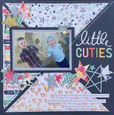 Scrapbook.com Layout Gallery #babyscrapbooks
