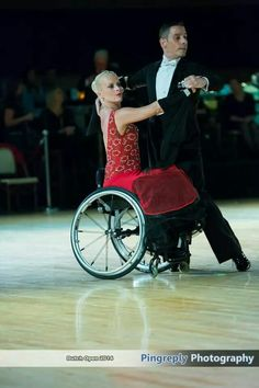Dutch open wheelchair dance
