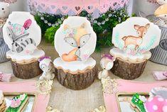 Woodland para la pequeña Oli 🍃🍁🐿🦊🌸#candybar #fiestaspersonalizadas #detalles #woodlandparty Baby Shower Fun, Baby Shower Cakes, Baby Shower Themes, Shower Ideas, Woodland Cake, Woodland Party, Fairy Birthday Party, Baby Birthday, Baby Shower Printables
