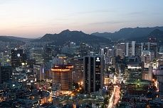 Skyline Seoul #skyline #seoul #night #tapeterie #tapeten #tapete #architektur #einrichtung #gestaltung #home #living #cover #wallpaper #walldesign #tapetenshop