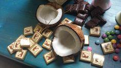 Vášnivé spojenie čokolády a kokosu...