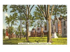Brown University, Providence, Rhode Island Premium Poster at Art.com