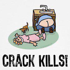 Crack Kills - funny, lmao, lol