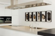 kitchen ideas – New Ideas Art Premier, Interior Decorating, Interior Design, Paris Apartments, Modern Kitchen Design, Luxury Living, Decoration, Cool Kitchens, Floating Shelves