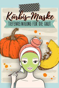Reinigt gründlich, verringert Pickel und pflegt die Haut intensiv - die Kürbis-Maske ist ein echter Alleskönner.