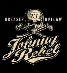 Johnny Rebel T-Shirt Design Skull and Crossbones by russellink on DeviantArt