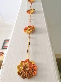 Sunny shades crochet pendant by GabyCrochetCrafts on Etsy