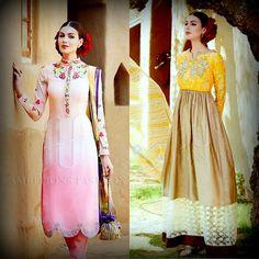 The sweet Mistyrose, rose pink or the happy Beige yellow ?   #AmbitionsFashion #pakistanifashion #elan #shalwarkameez #stylishkurtis #fashion #indiandesigner #beauty #kurtis #desigirl #kurti #bollywoodfashion #colorful #yellow #beige #pink #party #style #desistyle #girls #indiantraditionalwear #readymadekurtis #black #pretty #new #nice #jewellery #pakistanibride #desi #bridalwear #wedding