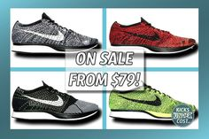 """Use code """"10SPRING100"""" for extra $10 off over $100 on Nike Flyknit Racers!"""